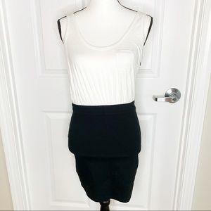 LaROK Nordstrom Mini Tank Dress Black Skirt A14
